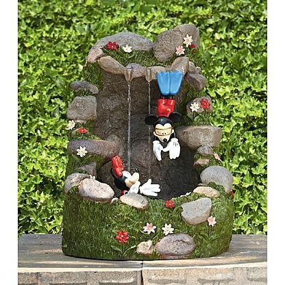 Disney Mickey Minnie Diving Fountain