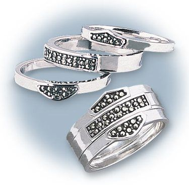 3 rings - I've never seen HD jewelry I liked this much!!