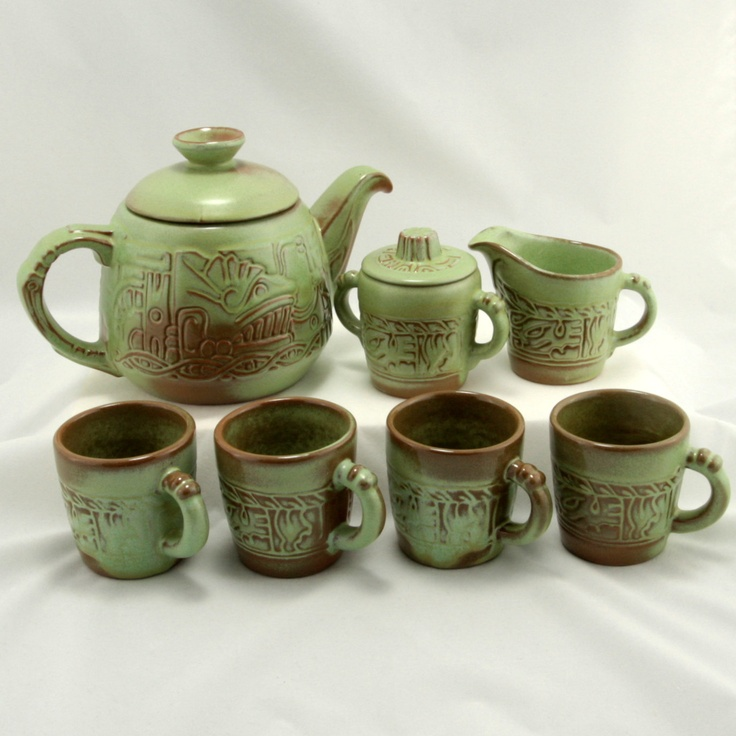 37 Best Tea Pots And Tea Cups Images On Pinterest Tea: green tea pot set