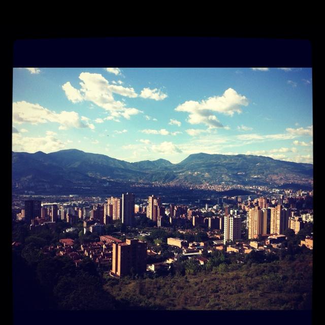 Día soleado en Medellín