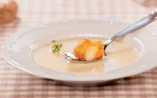 Zuppa di patate con formaggio...
