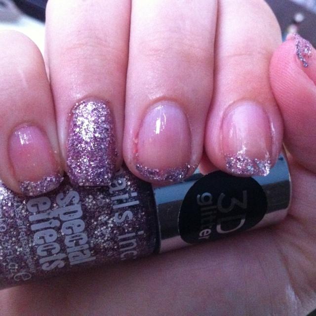 Nails Sephora 3D Glitter. <3: Nails Nails, Nails Sephora, 3D Glitter, Polish