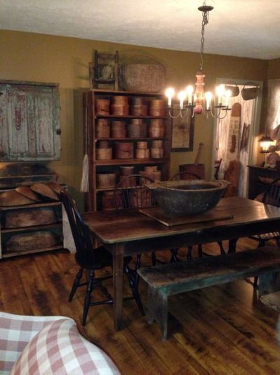 Primitive Dining Rooms