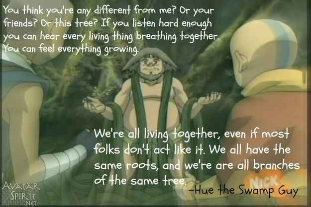Swamp men are surprisingly wise | Life Lessons We Learned From Avatar The Last Airbender