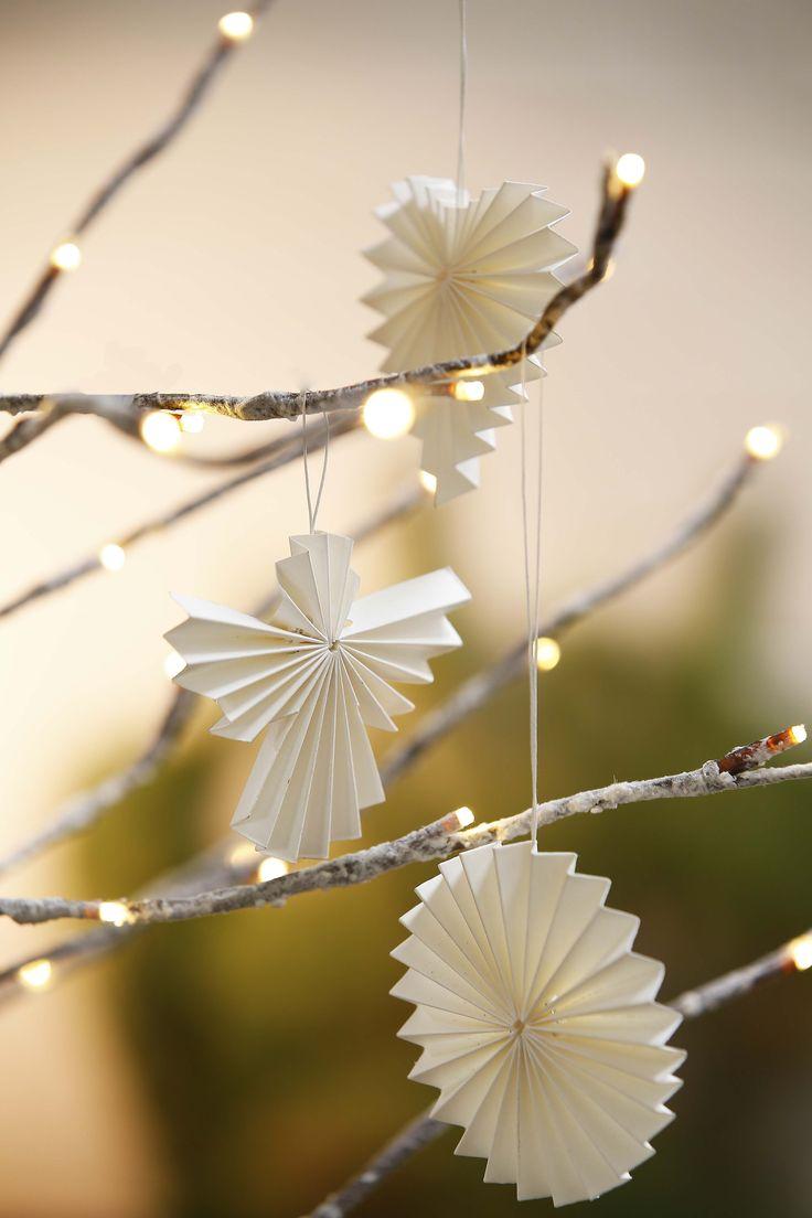 2013 - Tindra Origami Hanging Decs