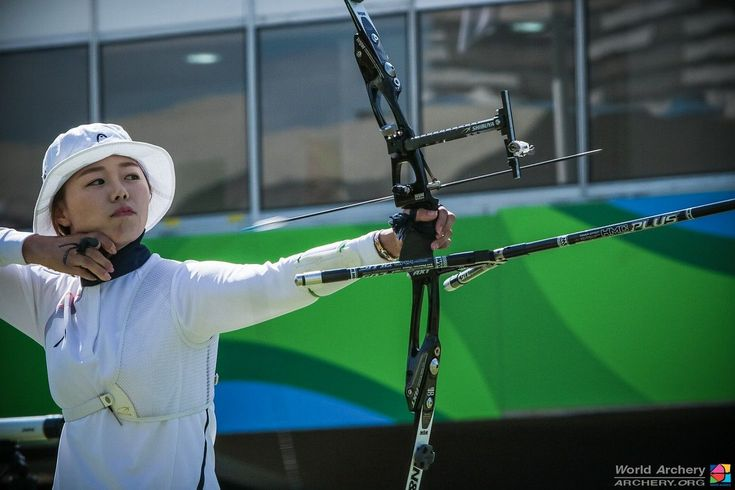 Chang Hye Jin, Rio Olympic archery women individual gold medalist  Doinker DS 7/8 on side rods