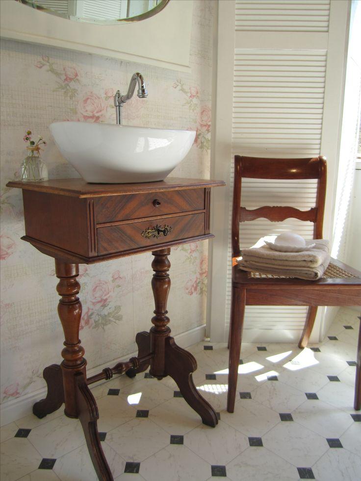Doppelwaschtisch antik  16 besten Waschtisch Gästebad antik Bilder auf Pinterest ...