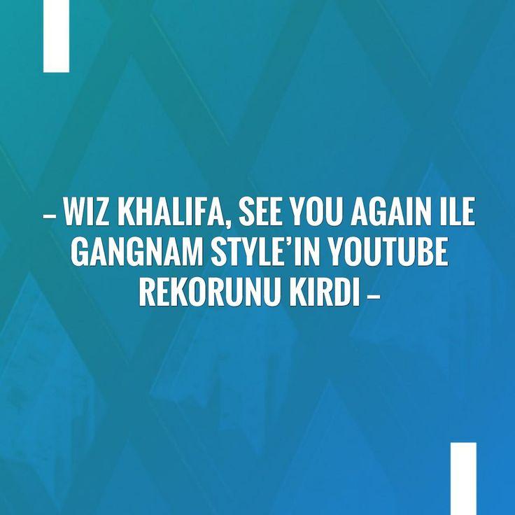 Check out my new post! Wiz Khalifa, See You Again ile Gangnam Style'ın Youtube rekorunu kırdı :) http://eftforum.tk/wiz-khalifa-see-you-again-ile-gangnam-stylein-youtube-rekorunu-kirdi/?utm_campaign=crowdfire&utm_content=crowdfire&utm_medium=social&utm_source=pinterest