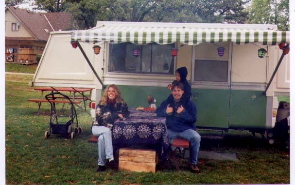 apache eagle pop up campers pics | 75 Royal with Doug & Heidi & Ben