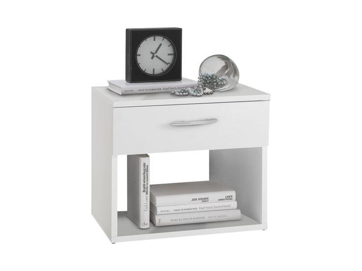 JONI Sängbord 42 Vit i gruppen Inomhus / Sängar / Sängbord hos Furniturebox (100-85-98907)
