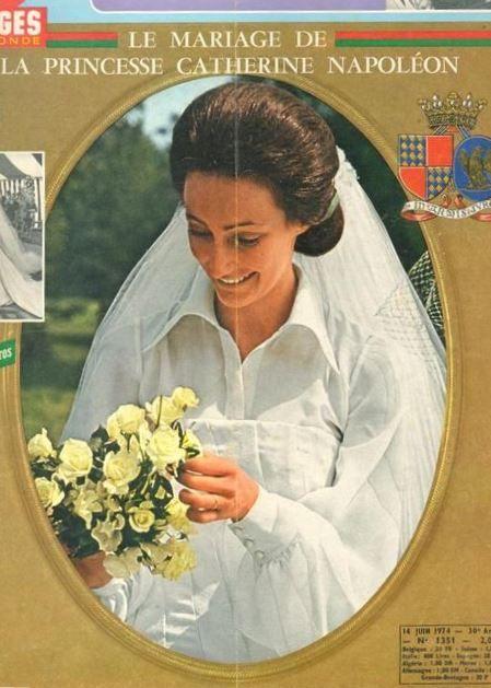 Mariage de la princesse Catherine Napoléon et de Nicolo ...