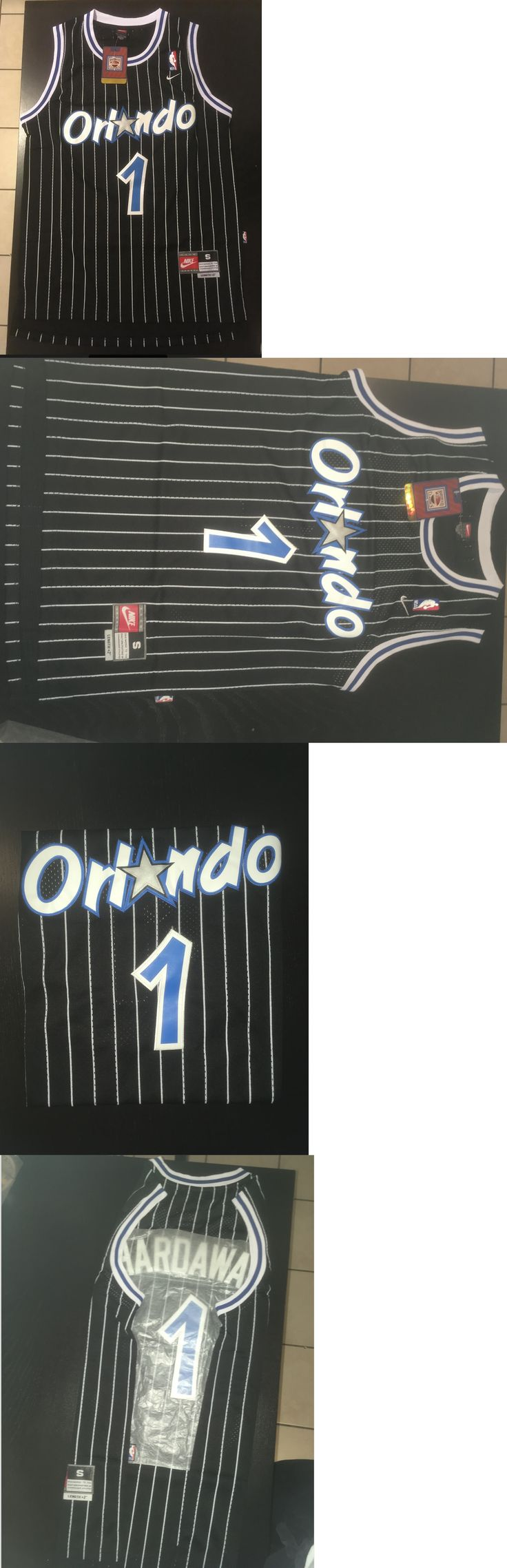 Basketball-NBA 24442: Penny Hardaway Orlando Magic Stitched Throwback Swingman Black Jersey Mens Sizes -> BUY IT NOW ONLY: $44.99 on eBay!