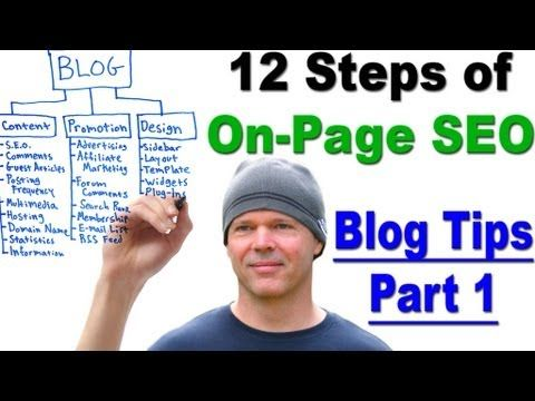 On Page SEO - Learn the 12 Steps of Onpage SEO - Blog Tips Part 1