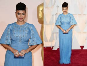 Fabulous Curvy Celebrities on the 2015 Oscar Red Carpet: Ava DuVernay on the 2015 Oscar Red Carpet