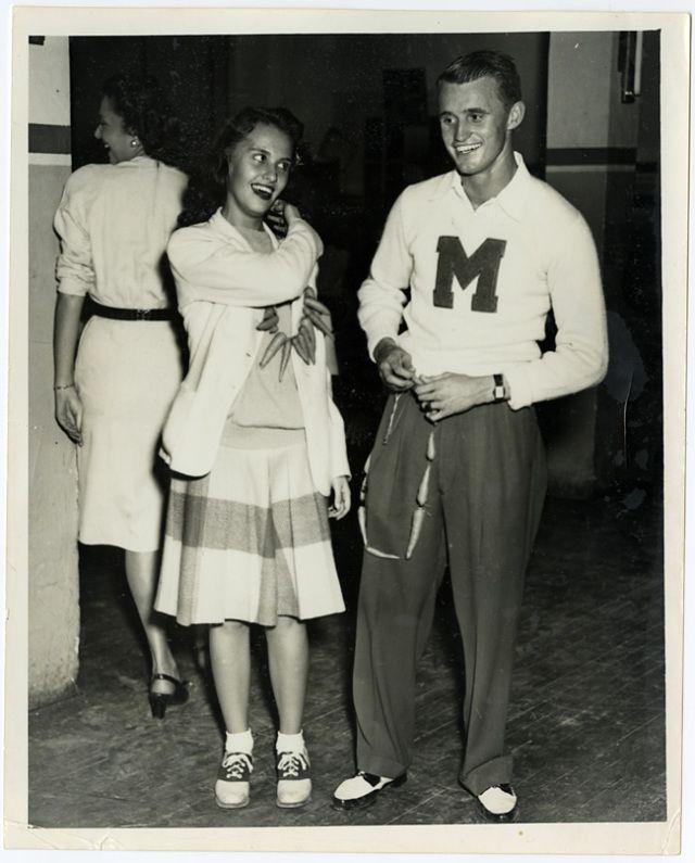 Blog Post on 1940s Collegiate Life!