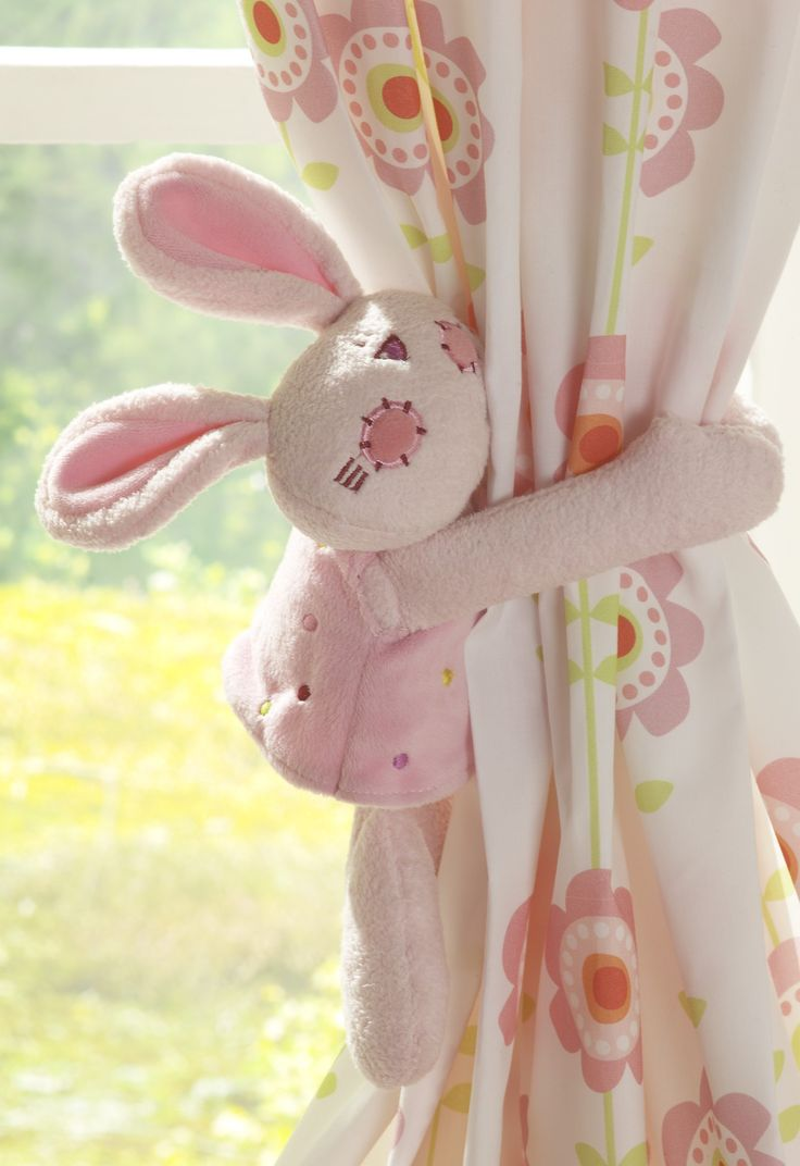 bunny curtain tie backs - Google Search