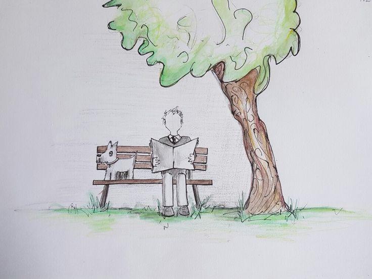 Original pencil & pen sketch | By Kate Winsley
