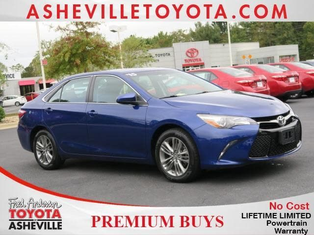 Used 2015 Toyota Camry for sale at Fred Anderson Toyota of Asheville in Asheville, NC for $16,749. View now on Cars.com.