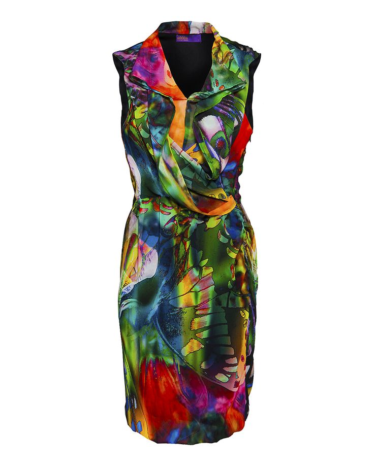 Jungle print cowl neck dress, available at Zando.co.za & at Stuttafords stores, South Africa