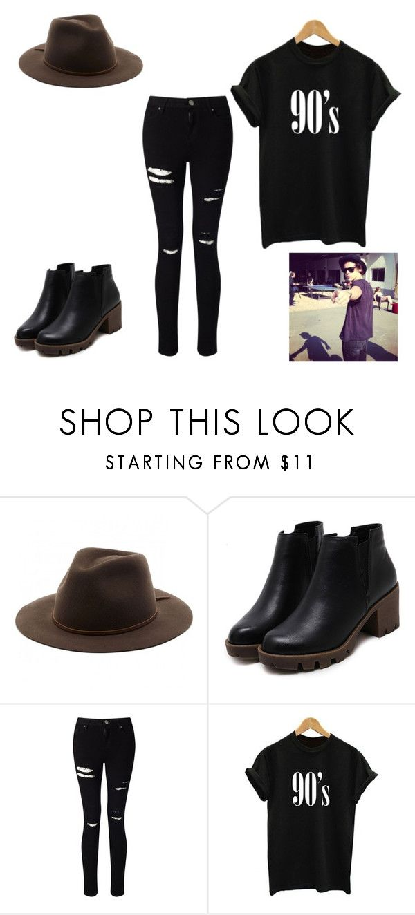 """5 Times Y/N And Harry Styles Were Matching"" by sr-for-the-world on Polyvore featuring Brixton and Miss Selfridge"