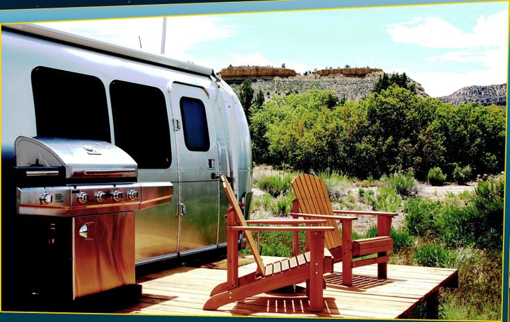 Shooting Star Drive-In where you can spend the night in an #airstream