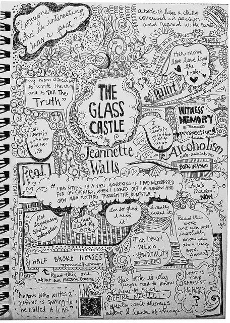 best glass castle ideas the glass castle book  glass castle jeanette walls graphic notes book club