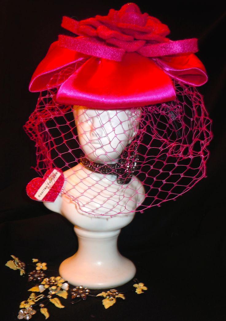 Tea party hat | Kositas Kuriosas | Pinterest