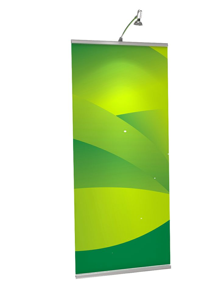 600mm x 1330mm Express Stand / Pull UP Banner with Led Light