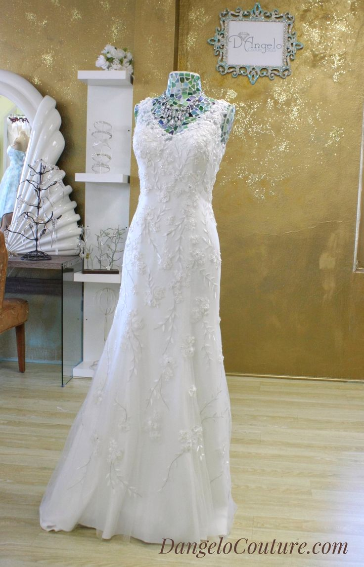 Lovely Wedding Dresses at D uAngelo Couture Bridal in San Diego California Beautiful Wedding