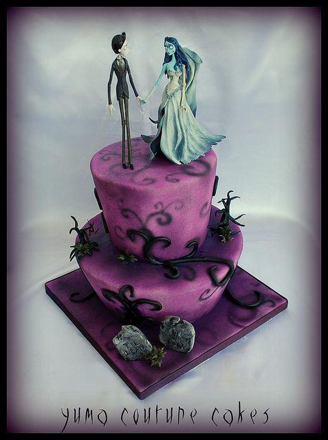 Corpse Bride Cake Yuma Arizona by Yuma Couture Cakes, via Flickr