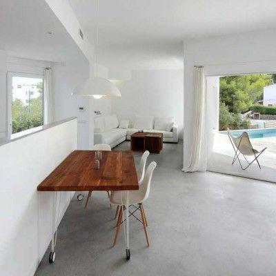 Oltre 25 fantastiche idee su pavimenti in cemento su for Piani di casa cottage con porte cochere