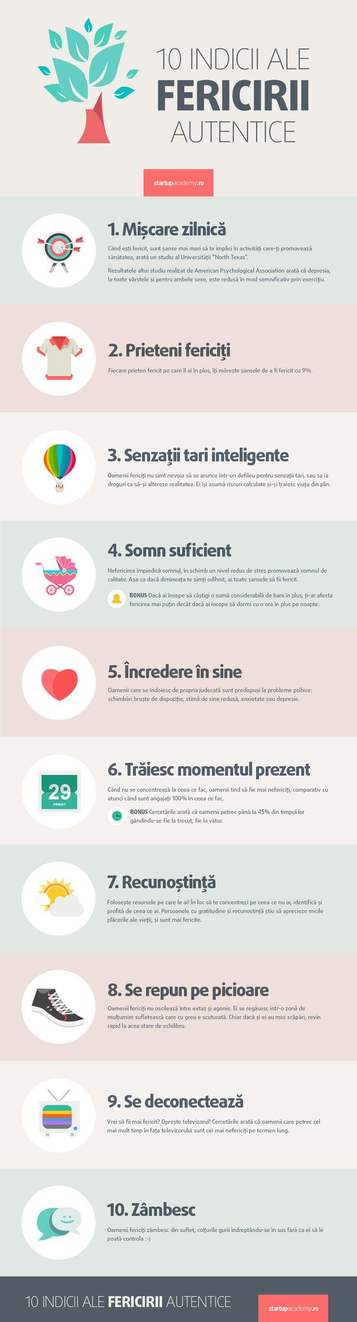 10 Indicii Ale Fericirii Autentice