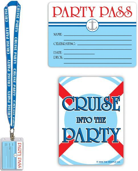 Perfect for your next cruise or nautical themed party! Each package includes one…
