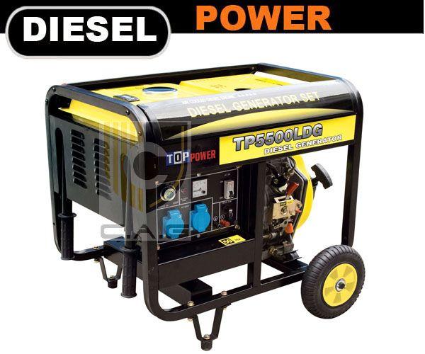 Luxy Series 4kw Portable Diesel Generator