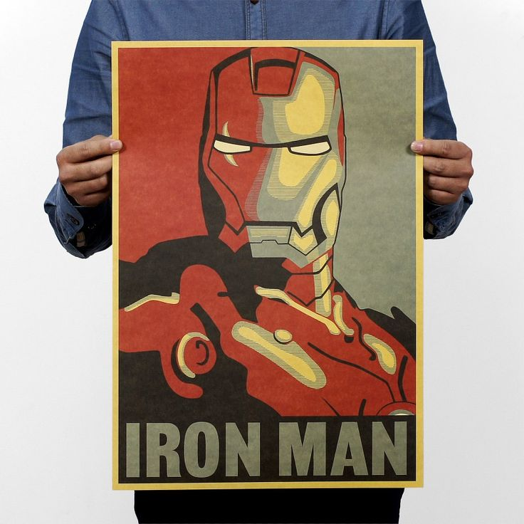 1 PCS Iron Man Comic Avatar Vintage Poster Cartoon Posters Hollywood Retro Kraft Paper Adornment Movie Posters College 51x36cm♦️ SMS - F A S H I O N 💢👉🏿 http://www.sms.hr/products/1-pcs-iron-man-comic-avatar-vintage-poster-cartoon-posters-hollywood-retro-kraft-paper-adornment-movie-posters-college-51x36cm/ US $1.39