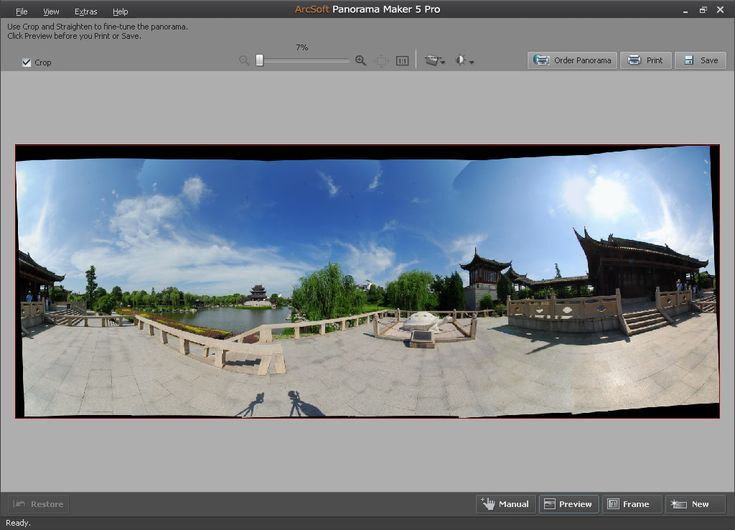 Инструкция panorama maker