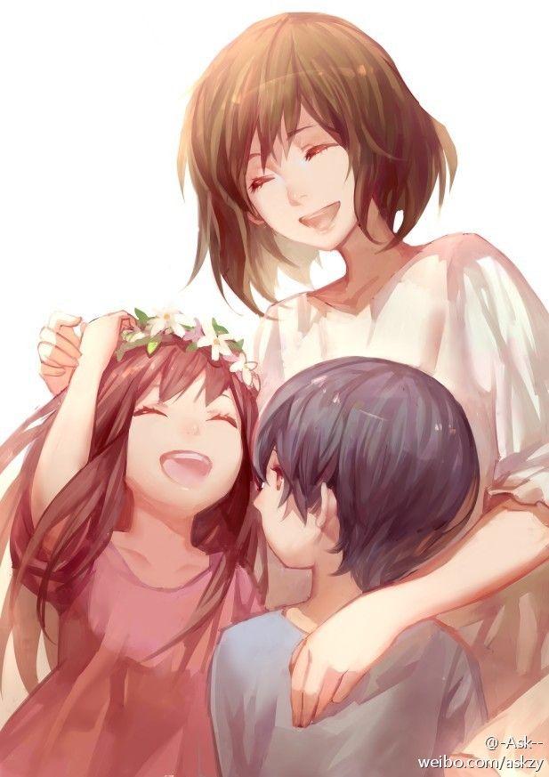 Картинки надписью, картинки мамы с сыном аниме