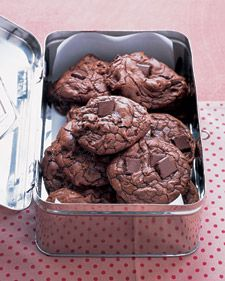 Outrageous Chocolate Cookies by Martha Stewart. Made these for a Cookie Swap.