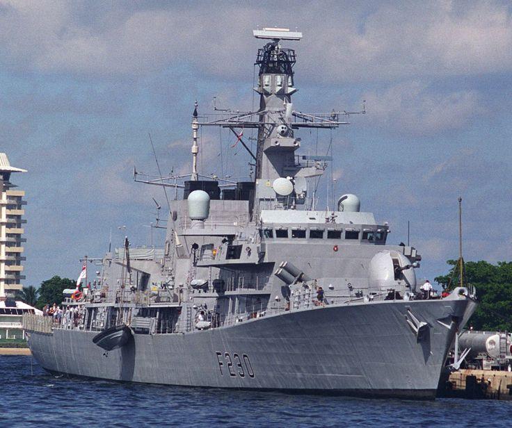 f 230 hms norfolk type 23 duke class frigate royal navy