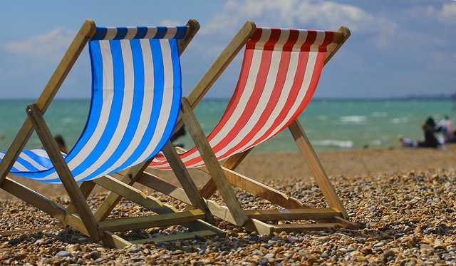 Deck chairs (Brighton)