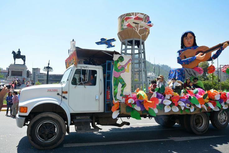 El Bosque en Santiago es Carnaval