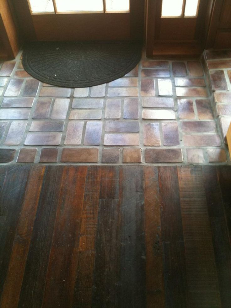 Foyer Tile To Wood Transition : Best entryway flooring ideas only on pinterest