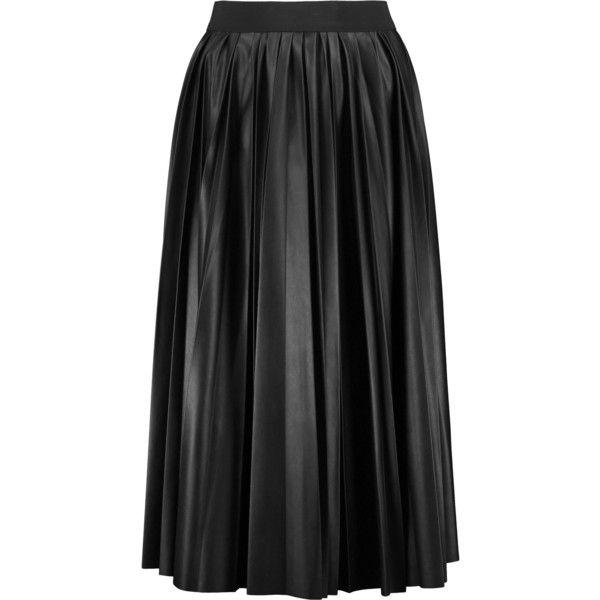 Best 25  Black pleated midi skirt ideas on Pinterest   Midi skirt ...