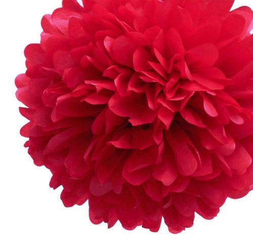 Festa-Di-Nozze-Da-Appendere-tessuto-carta-e-Pompon-Lanterna-Decorazione-Palle-di-dimensioni-miste