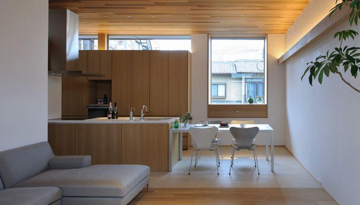 岡崎の家2 - WORKS|株式会社 一級建築士事務所 設計組織 DNA|実績ある建築家とつくる戸建住宅 - 大阪・京都・兵庫