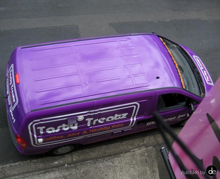 #AutoSkin #VanWrap #VehicleWrap #catering #restaurantvehiclewrap #tastytreatz