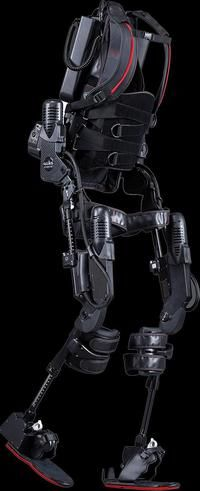 L'exosquelette robotique conçu par Ekso Bionics.