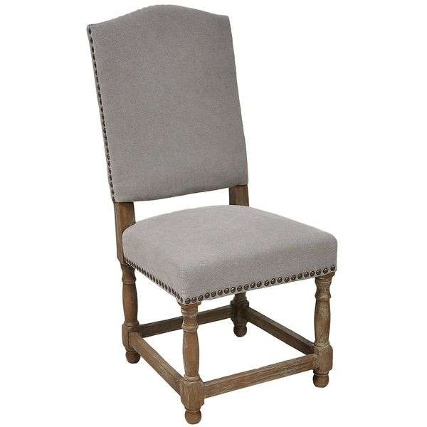 Redford Dining Chair - Stone Wash Light Grey - Overstock™ Shopping - Great Deals on Kosas Collections Dining Chairs