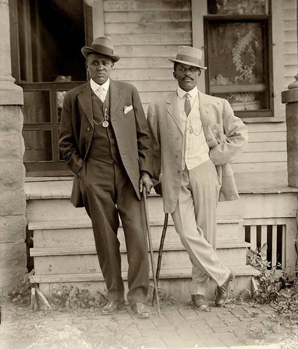 Two Dapper Men In Lincoln Nebraska Historic Photographs