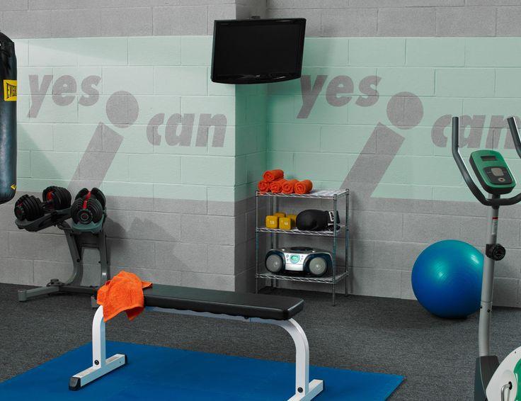 Best basement workout room ideas on pinterest